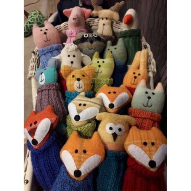 Baby & toys Toys & games Soft toys : Sprout Softies Jersey Critter softies