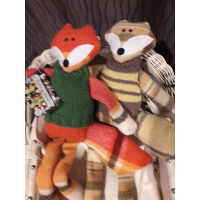 Baby & toys Toys & games Soft toys : Sprout Softies Fox Family, Sot toys, Fox