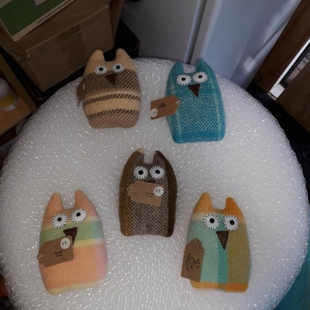 Baby & toys Toys & games Soft toys : Sprout Softies Owls, Soft toys, Owls