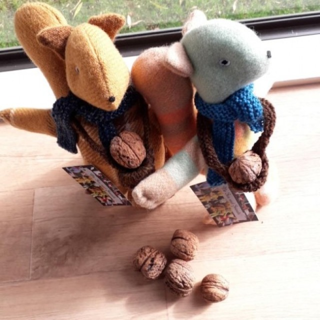 Baby & toys Toys & games Soft toys : Sprout Softies Squirrels, Soft toys, Squirrel