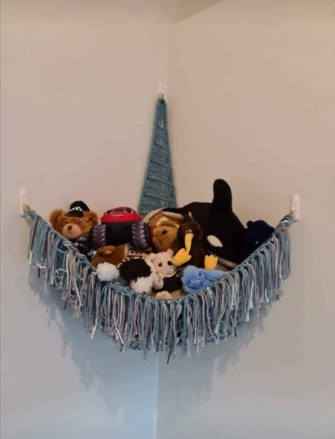 Baby & Toys Baby Accessories : Handmade Crocheted Toy Hammock