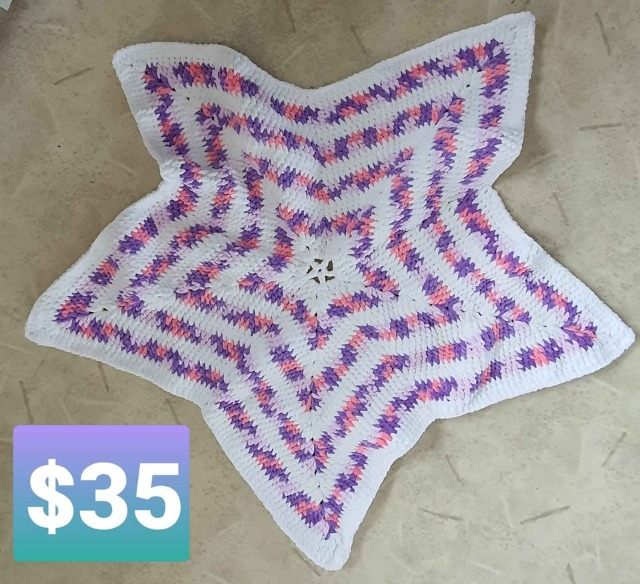 Baby & Toys Baby Clothing : Star Baby Blanket, Baby Blanket, Crochet Baby Blanket, Handmade Blanket