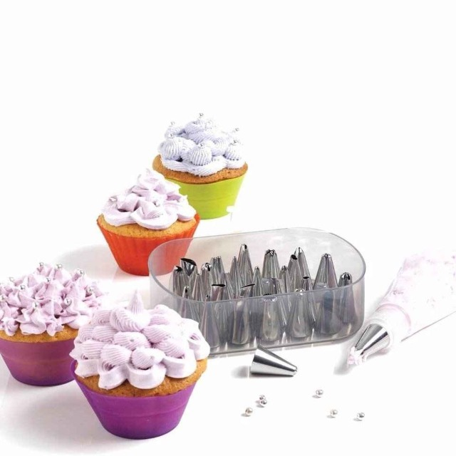 Home & Garden Home & Living Kitchen : Decorating Nuzzles, Petal Icing, Cake Icing Tips, Cake Icings, Cake Decoration Set