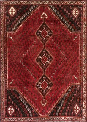 Home & Garden Home & Living Lounge & Dinning Room : Qashqai Rug, Persian Rug, Handmade Persian Rug, Oriental Rug, Hand knotted Rug