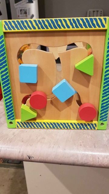 Baby & Toys Toys & Games Educational Toys : Kids wooden learning cube, Wooden Cube, Learning Cube, Educational Toy, Wooden Toy, Learning Toy