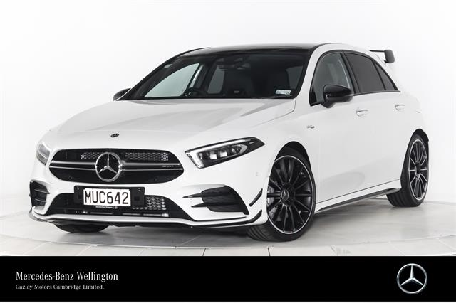 Motors Cars & Parts Cars : 2020 Mercedes-Benz A 35 AMG 4MATIC Communications, Driving Assist & Vision Packages.