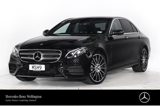 Motors Cars & Parts Cars : 2020 Mercedes-Benz E 200 Saloon Luxury model finished in Obsidian Black Metallic