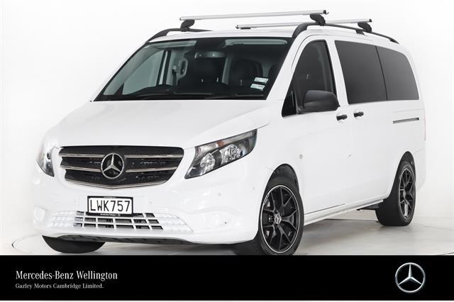 Motors Cars & Parts Cars : 2018 Mercedes-Benz Vito 116L Valente G-Spec 8 Easy-Remove Seats. Balance of New Car Warranty