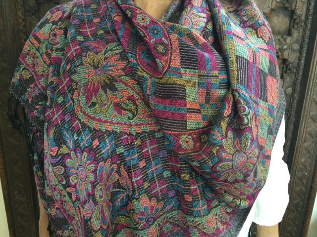 Fashion Women Accessories : Persian Pashmina