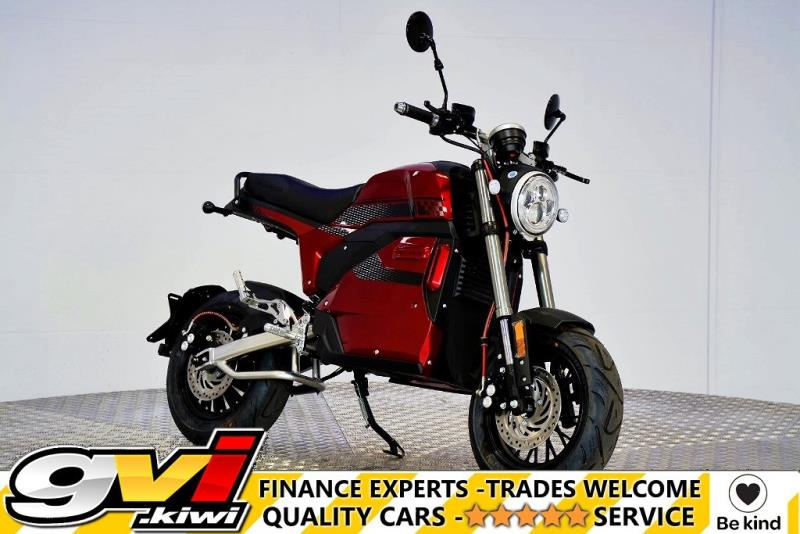 Motors Motorbikes & parts Motorbikes : 2021 Go Charged Velociraptor Café Racer 100% Electric Moped