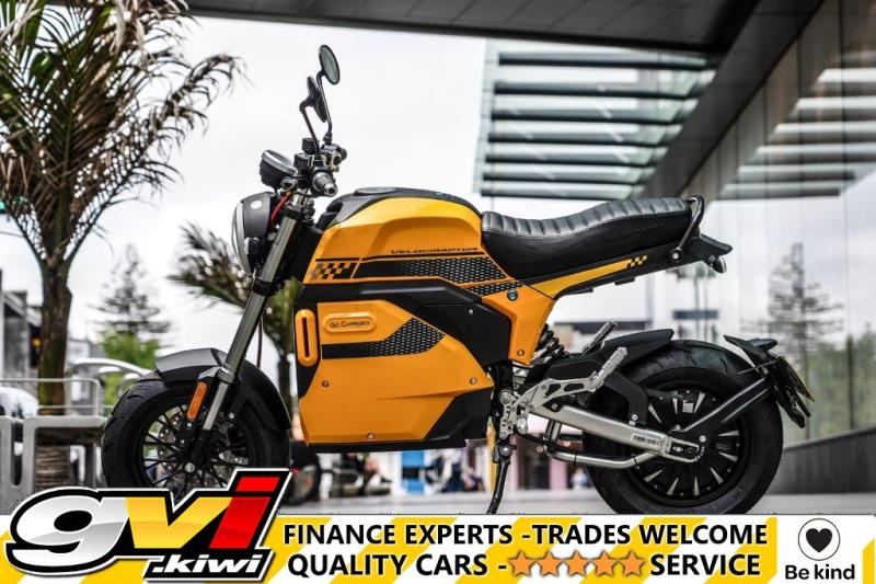 Motors Motorbikes & parts Motorbikes : 2021 Go Charged Velociraptor Cafe Racer 100% Electric
