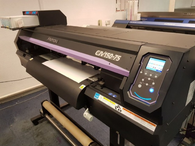 Electronics & photo Computers & tablets Printers & scanners : Mimaki CJV150-75 Wide Format Inkjet Printer/Cutter