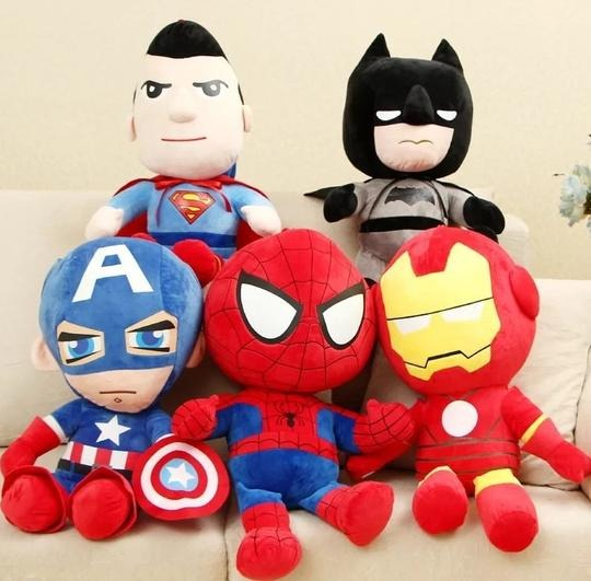 Baby & toys Toys & games Soft toys : ACTION HERO PLUSH TOYS, SOFT TOYS, SNUGGLE TOY, ACTION HERO