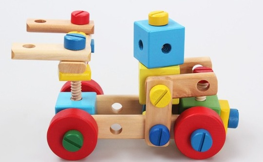 Baby & toys Toys & games Educational toys : WOODEN MULTIFUNCTIONAL TOOL SET 1, WOODEN TOY, EDUCATIONAL TOY