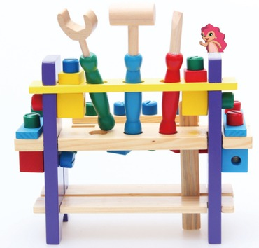 Baby & toys Toys & games Educational toys : WOODEN MULTIFUNCTIONAL TOOL SET 2, WOODEN TOY, EDUCATIONAL TOY