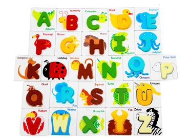 Baby & toys Toys & games Educational toys : WOODEN WORD/ALPHABET SET, EDUCATIONAL TOY, WOODEN TOY