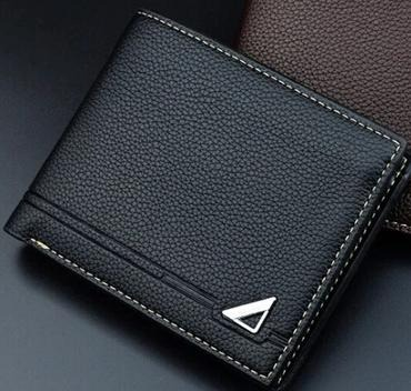 Fashion Men Accessories : DAIQISI WALLET - BLACK- GENUINE LEATHER, WALLET, LEATHER WALLET