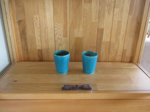 Home & garden Home & living Kitchen : Beautiful Pottery Glass, Turquoise Drinking Glasses, Brand new Persian Pottery