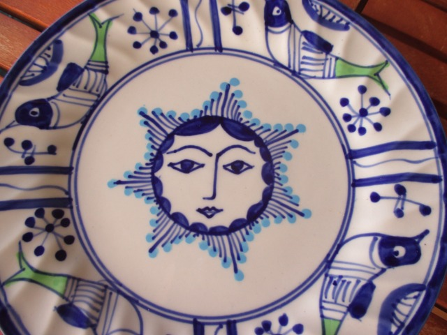 Home & Garden Home & Living Kitchen : Beautiful Persian pottery, hand-made and hand-painted plate, Small plate, Ceramic