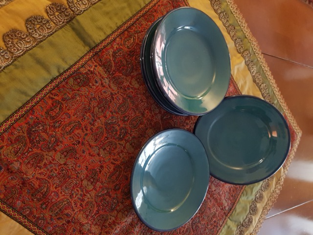 Home & Garden Home & Living Kitchen : Beautiful Turquoise Plate, Persian Pottery, Ceramic