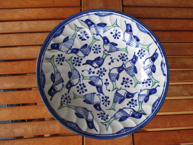 Home & Garden Home & Living Kitchen : Deep Dining Plates, Colourful Persian Pottery (Brand new)