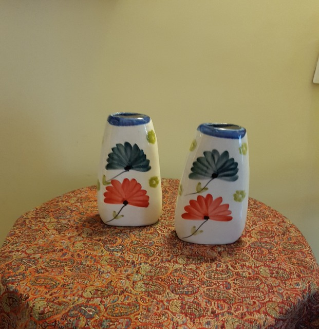 Home & Garden Home & Living Home Decor : Colourful flower vase, wall mount flower vase, Persian pottery
