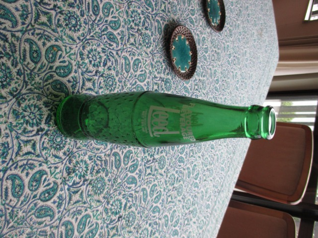 Art & crafts Collectables Pottery & glass : Old Leed Bottle, 285 ml