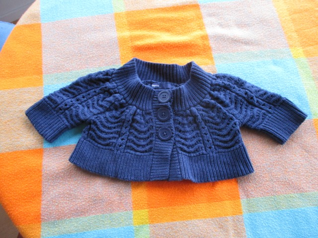Baby & Toys Baby Clothing : BabyGap Merino Cardigan 4-5 months old, Secondhand GAP Merino Knit Jacket, Woolen Cardigan