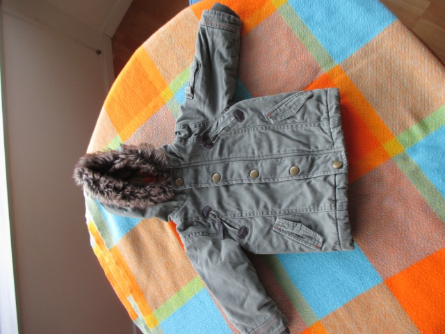 Baby & Toys Baby Clothing : Mothercare baby coat, 3-6 months old, second hand baby boy jacket
