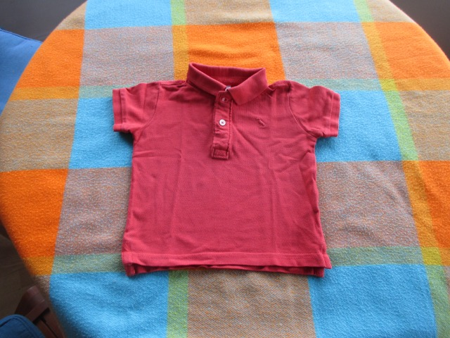 Baby & Toys Baby Clothing : Zara Polo Shirt, 9-12 months old, Secondhand, Baby boy polo shirt