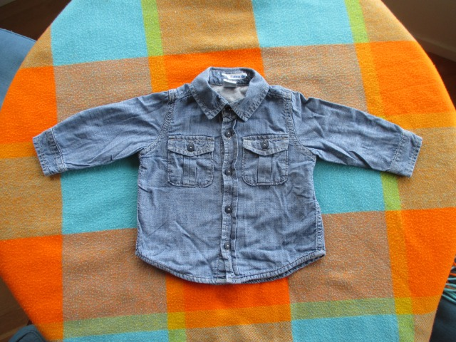 Baby & Toys Baby Clothing : Baby Gap Shirt for boys, Denim Shirt 6-12 months, Jeans