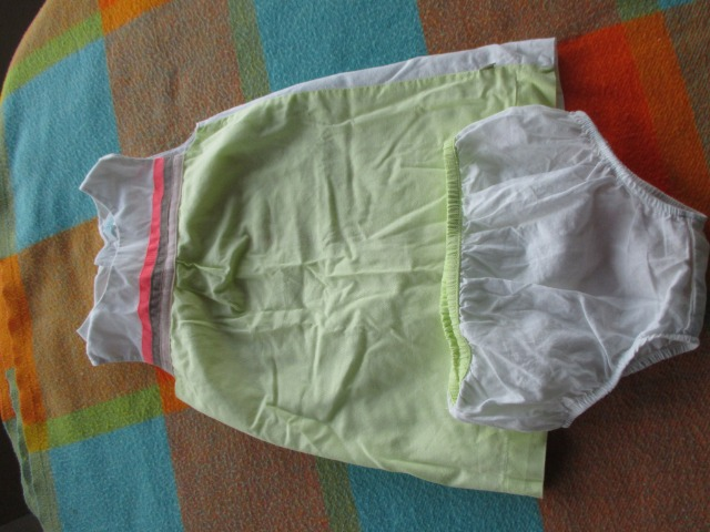 Baby & Toys Baby Clothing : Obaibi, second hand, baby girl dress, 12 months old comes with an underwear