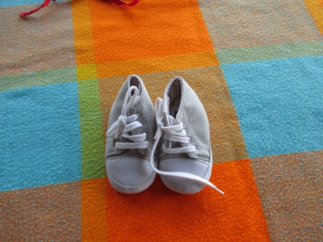 Baby & Toys Baby Clothing : Newborn baby shoes, Secondhand Bout chou baby shoes, unisex shoes