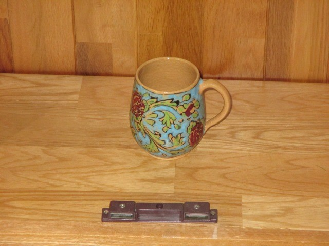 Home & Garden Home & Living Home Decor : Floral cup, Beautiful Persian pottery, hand-made and hand-painted mug