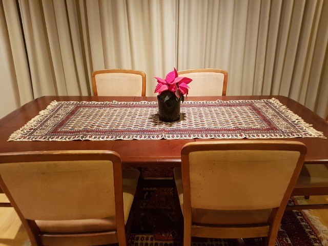 Home & Garden Home & Living Lounge & Dinning Room : Handmade Tablecloth (60x150 cm), Persian Cotton Tablecloth, Washable Runner, Ghalamkar