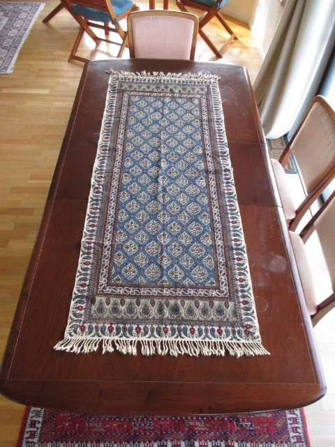 Home & Garden Home & Living Lounge & Dinning Room : Handmade Tablecloth (60x150 cm), Persian Cotton Tablecloth, Washable Tablecloth, Ghalamkar