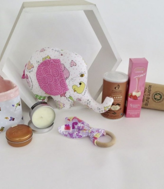 Baby & toys Baby Other : Baby and Mum Gift Hamper – Girl, Gift Basket