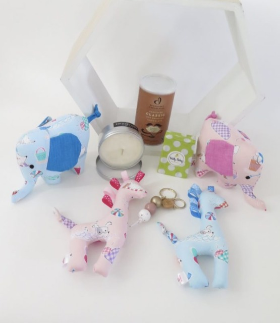 Baby & toys Baby Other : Baby Gift Hamper – Twin, Gift Basket