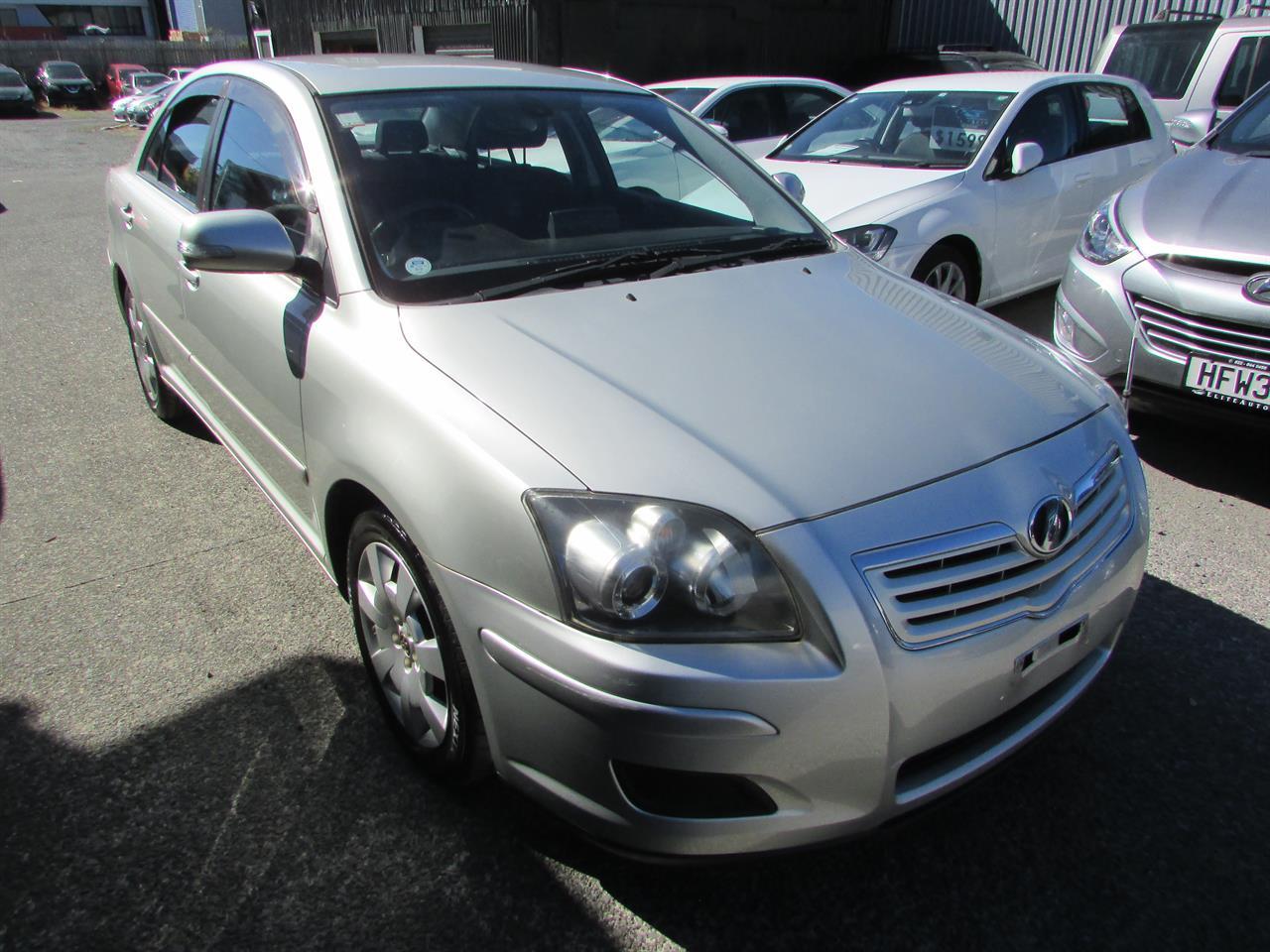 Motors Cars & parts Cars : 2006 Toyota Avensis 2.0 Camchain Black trim Low km