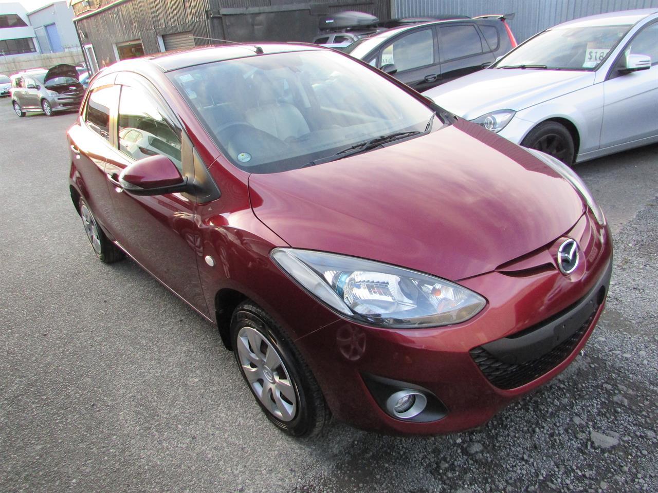 Motors Cars & parts Cars : 2012 Mazda Demio skyactive I-STOP Camchain engine 1.3