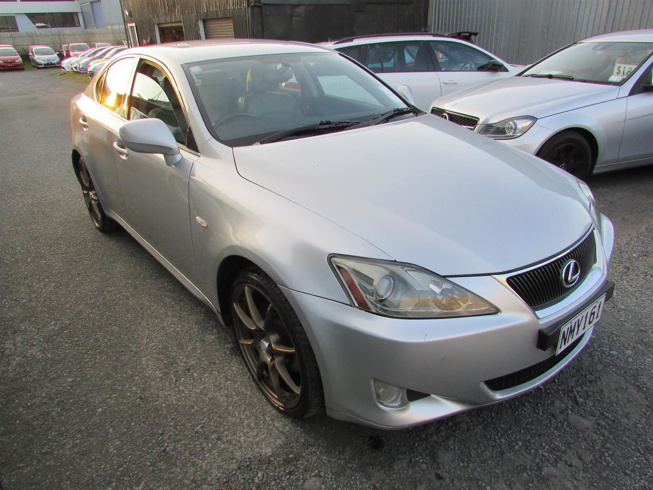 Motors Cars & parts Cars : 2007 Lexus IS220D Diesel Manual Low km Leather seats