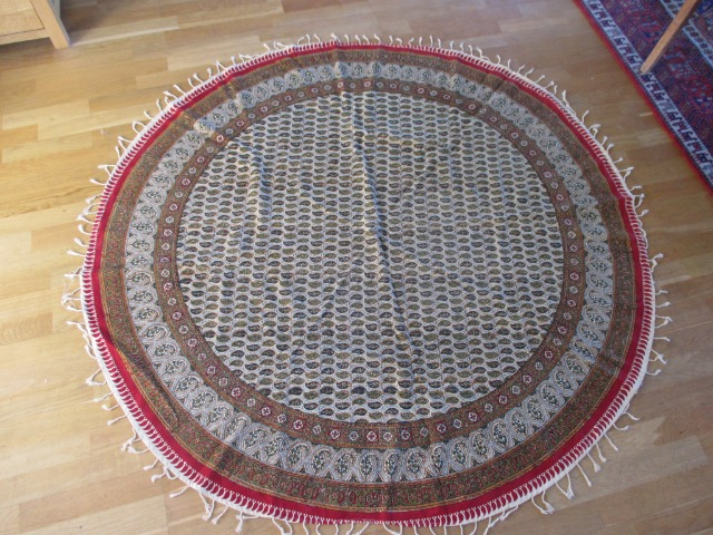 Home & Garden Home & Living Lounge & Dinning Room : Brand New, Round Persian Tablecloth (160 cm), Handmade