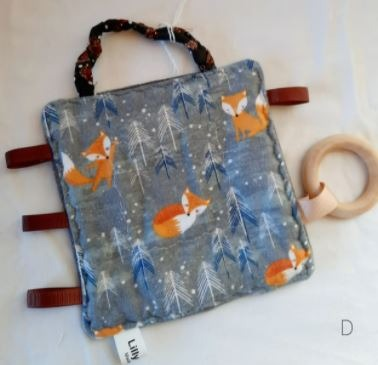 Baby & toys Baby Accessories : TEETHING SQUARE, HANDMADE TEETHING TOY, BABY TEETHER