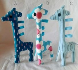 Baby & toys Toys & games Soft toys : PETITE GIRAFFE, SOFT TOY, SMALL CUDDLE TOY
